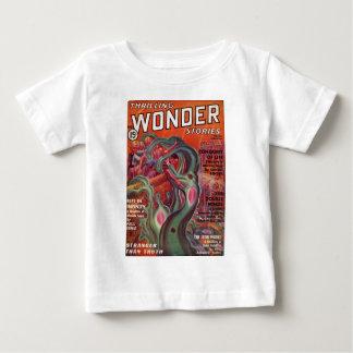 Camiseta Para Bebê Tentáculos viscosos