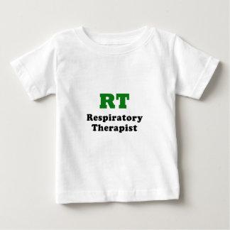 Camiseta Para Bebê Terapeuta respiratório do RT
