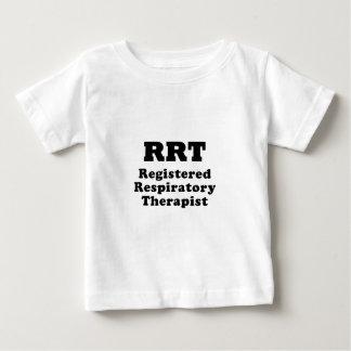 Camiseta Para Bebê Terapeuta respiratório registrado
