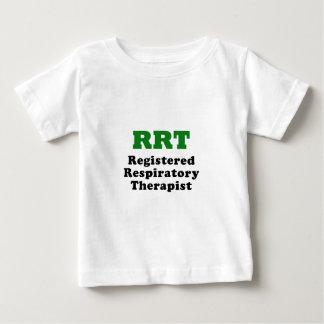 Camiseta Para Bebê Terapeuta respiratório registrado RRT