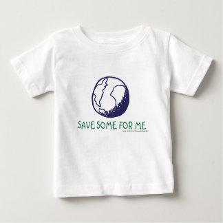 Camiseta Para Bebê Terra: Salvar algum para mim