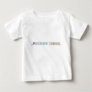 Camiseta Para Bebê Terras comuns do beira-rio