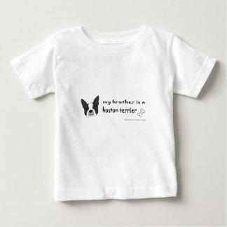 Camiseta Para Bebê terrier de Boston
