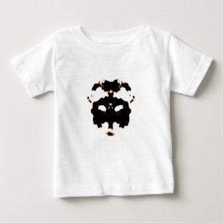 Camiseta Para Bebê Teste de Rorschach de um cartão da mancha da tinta