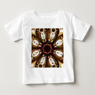 Camiseta Para Bebê teste padrão colorido do ponto