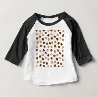 Camiseta Para Bebê Teste padrão das rosquinhas