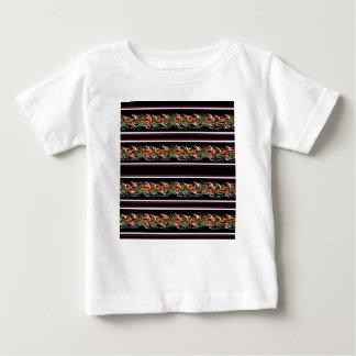 Camiseta Para Bebê Teste padrão de Barbwire