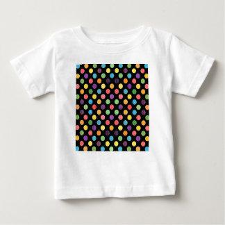 Camiseta Para Bebê Teste padrão de pontos bonito IX