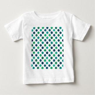 Camiseta Para Bebê Teste padrão de pontos bonito XIV