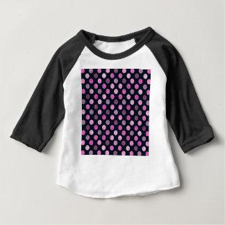Camiseta Para Bebê Teste padrão de pontos bonito XVII