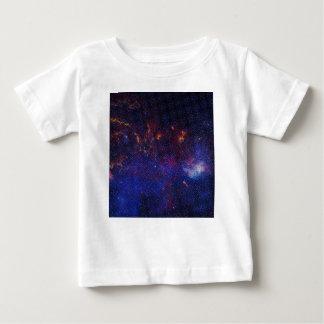 Camiseta Para Bebê Teste padrão do átomo