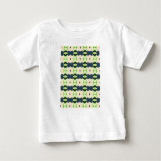 Camiseta Para Bebê Teste padrão do design de Tiki