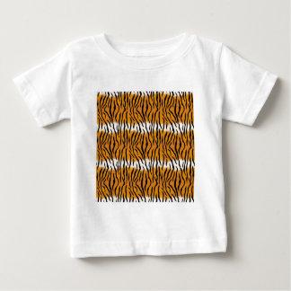 Camiseta Para Bebê Teste padrão do tigre