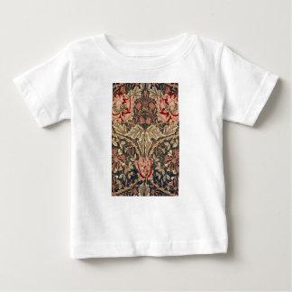Camiseta Para Bebê Teste padrão do vintage da madressilva de William