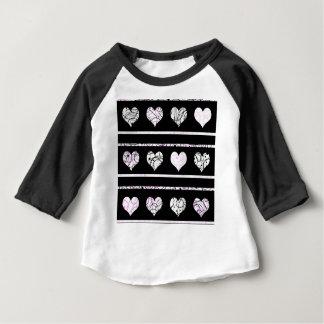 Camiseta Para Bebê Teste padrão dos cervos