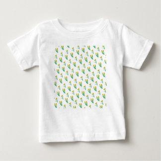 Camiseta Para Bebê Teste padrão dos Daffodils