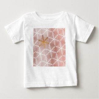 Camiseta Para Bebê Teste padrão geométrico elegante do feriado dos