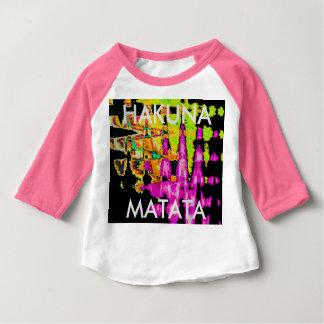 Camiseta Para Bebê Teste padrão surpreendente bonito das cores de