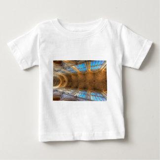 Camiseta Para Bebê Teto da abadia do banho