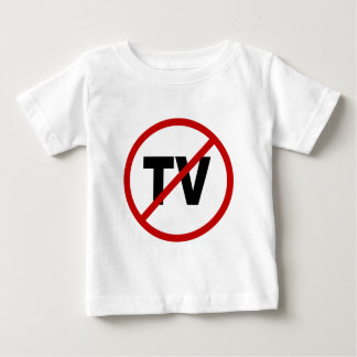 Camiseta Para Bebê Tevê da tevê /No do ódio permitida a indicação do