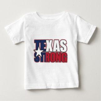 Camiseta Para Bebê Texas-Forte