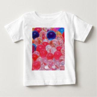 Camiseta Para Bebê textura das bolas da água
