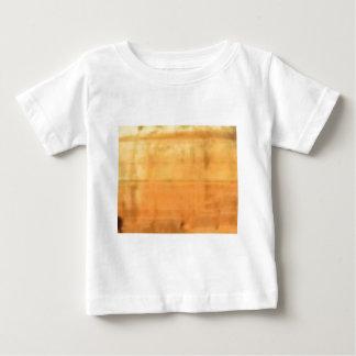 Camiseta Para Bebê textura lisa tan