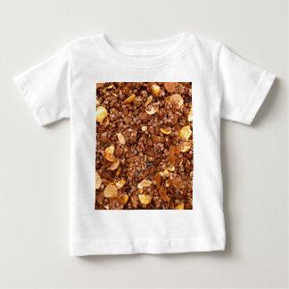 Camiseta Para Bebê Textura torrada de Muesli