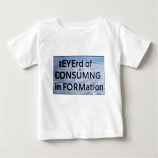 Camiseta Para Bebê tEYErd de CON$UMNG na formação