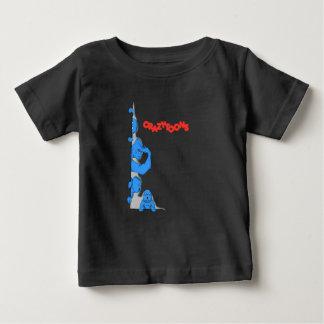 Camiseta Para Bebê The Crazytoons