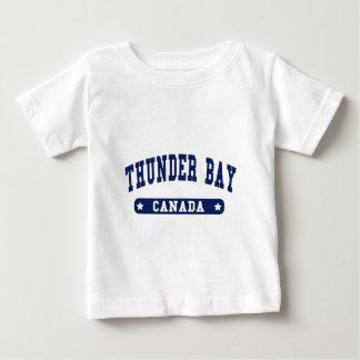 Camiseta Para Bebê Thunder Bay
