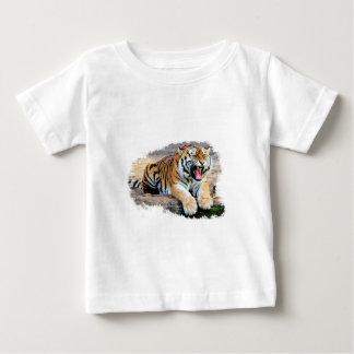Camiseta Para Bebê Tigre
