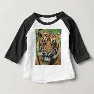 Camiseta Para Bebê Tigre adulto