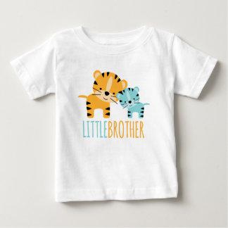 """Camiseta Para Bebê Tigre bonito """"irmão mais novo """""""