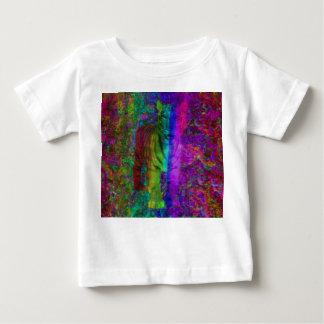 Camiseta Para Bebê Tigre colorido