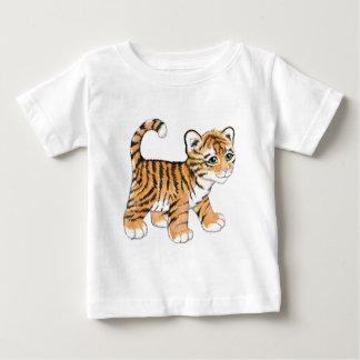 Camiseta Para Bebê Tigre Cub