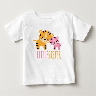 Camiseta Para Bebê Tigre da irmã mais nova