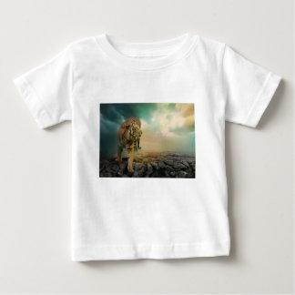 Camiseta Para Bebê Tigre grande