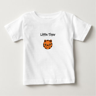 Camiseta Para Bebê Tigre pequeno