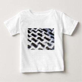 Camiseta Para Bebê tijolos inclinados
