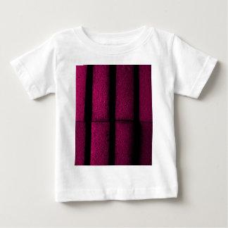 Camiseta Para Bebê Tijolos roxos