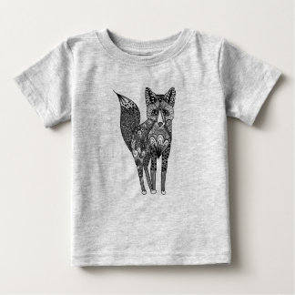 Camiseta Para Bebê Tilki o Fox