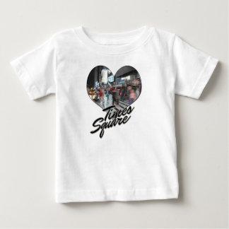 Camiseta Para Bebê Times Square da lembrança da skyline da Nova