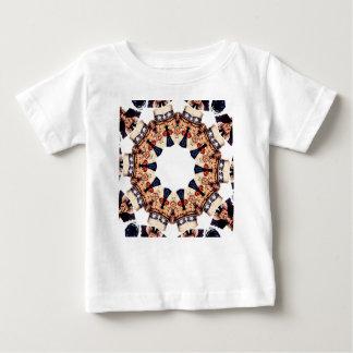 Camiseta Para Bebê Tio Sam que aponta o caleidoscópio do dedo