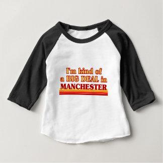 Camiseta Para Bebê Tipo de I´m de uma grande coisa em Manchester