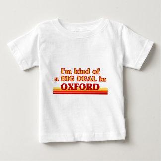 Camiseta Para Bebê Tipo de I´m de uma grande coisa em Oxford