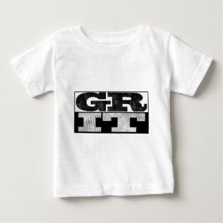 Camiseta Para Bebê Tipo palavra do t-shirt do GRÃO