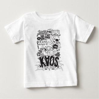Camiseta Para Bebê tipografia