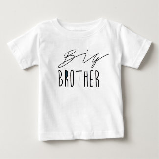 Camiseta Para Bebê Tipografia do big brother |