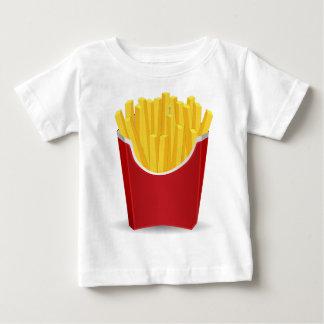 Camiseta Para Bebê Tiragem das batatas fritas